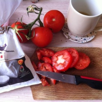 Petite recette rapide de tomate-mozza pour bébé :-D