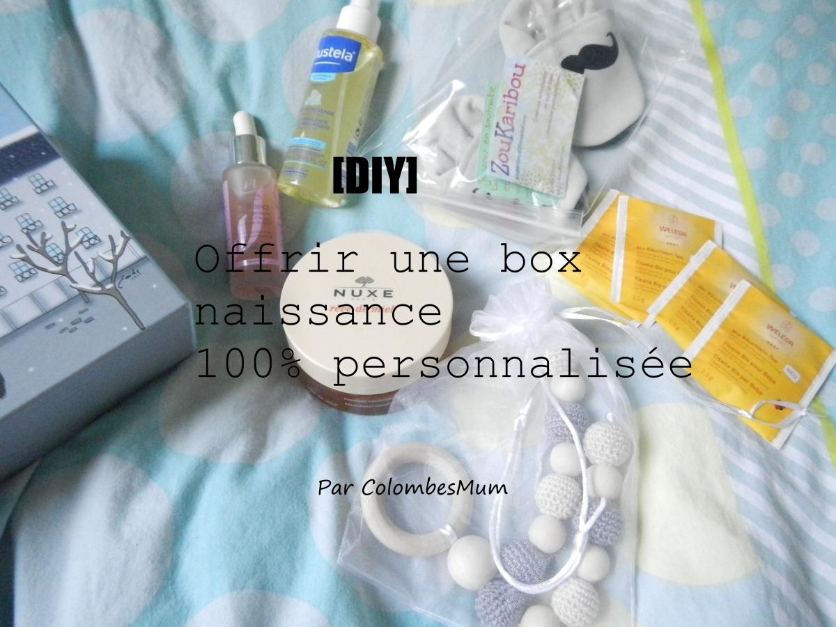 Cadeau de naissance - Offrir une box maman/bébé home-made