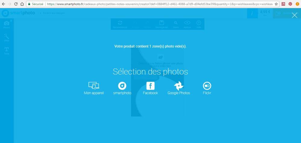 Smartphoto logiciel import photos.JPG